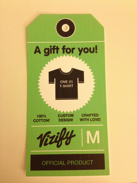 Design matters, even on a t-shirt tag.