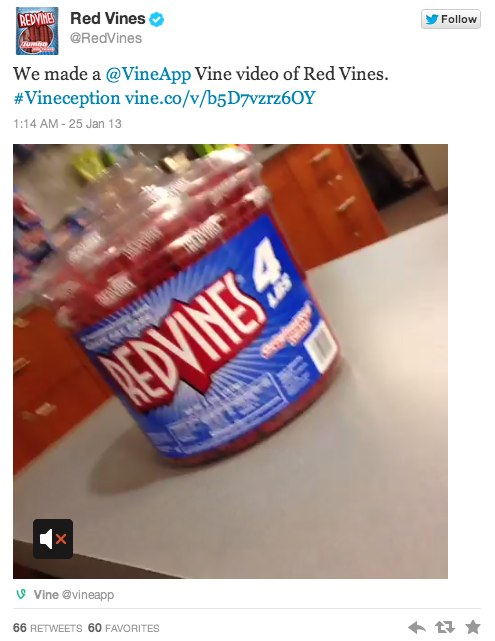 Redvines Punning with Vine - a New Form of Ad?