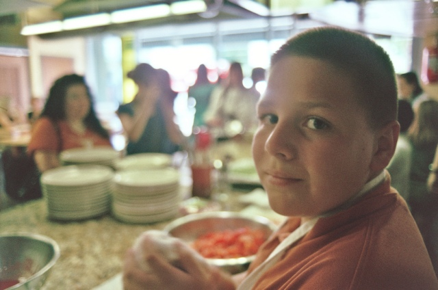 "(photo ""IACP austin 2011: cooking with UT elementary kids at whole foods"" by Sarah Gilbert)"